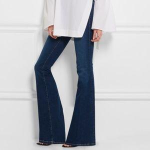 FRAME Denim Le High Flare High Waist Jeans 25